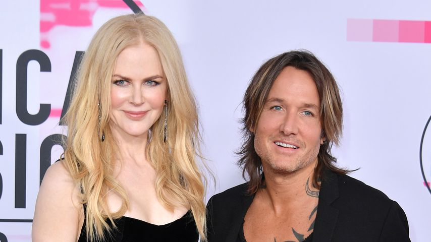 Nicole Kidman und Keith Urban bei den American Music Awards 2017