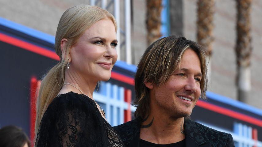 Nicole Kidman und Keith Urban im April 2019