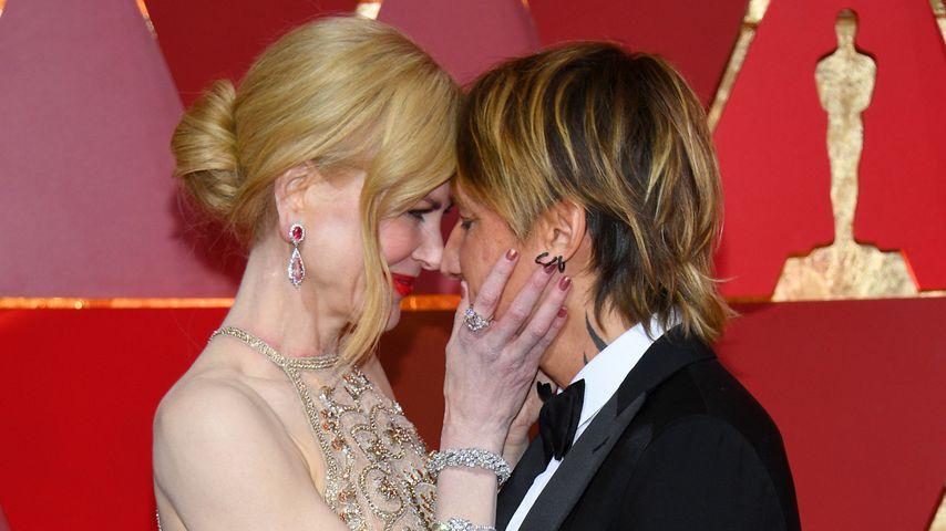 Nicole Kidman und Keith Urban bei der Oscar-Verleihung im Jahr 2017
