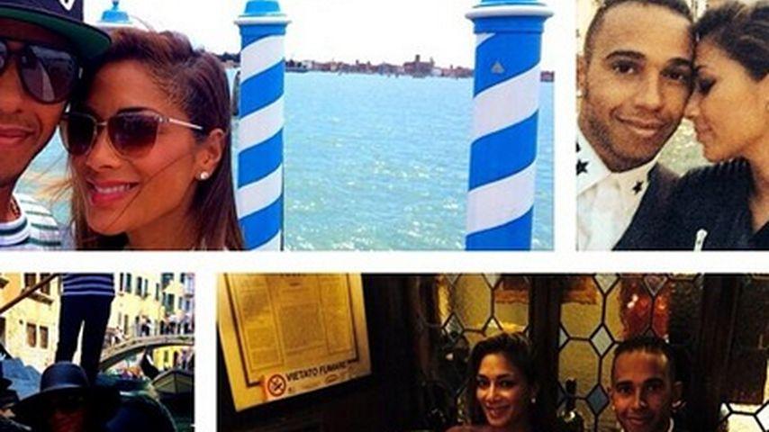 Liebesurlaub für Nicole Scherzinger & ihren Lewis