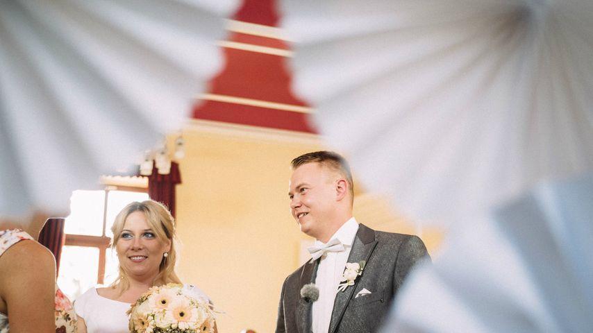 """Nicole und David bei ihrer """"Hochzeit auf den ersten Blick"""""""