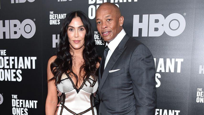 Nicole Young und Dr. Dre im Juni 2017 in New York City