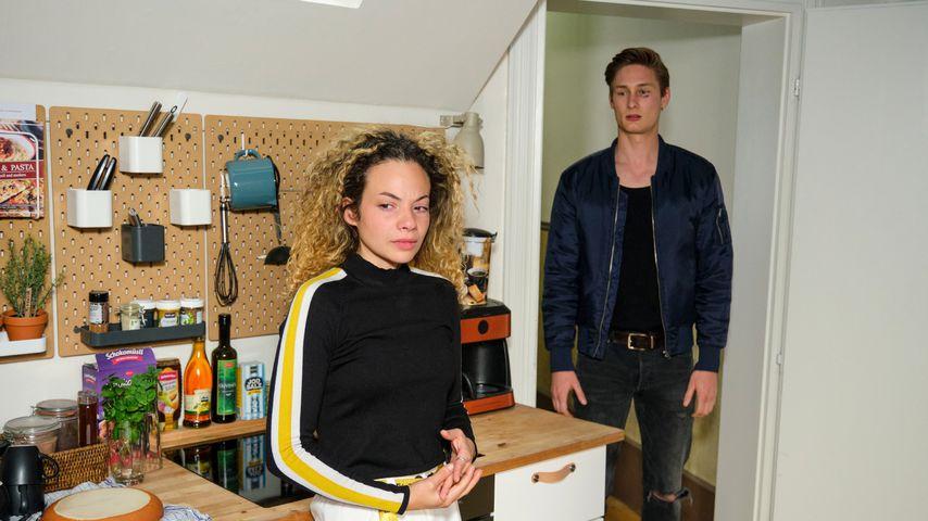 """Nika (Isabelle Geiss) und Conor (Yannik Meyer) bei """"Unter uns"""""""