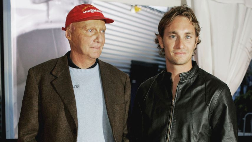 Niki und Mathias Lauda