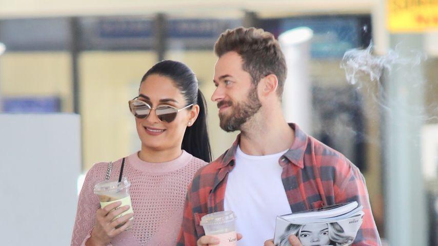Nikki Bella und Artem im September 2019