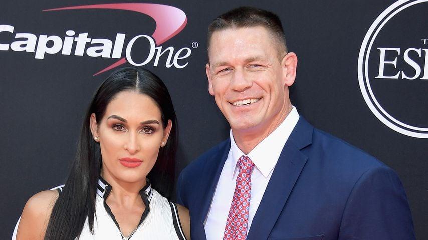 Nikki Bella und John Cena in Los Angeles