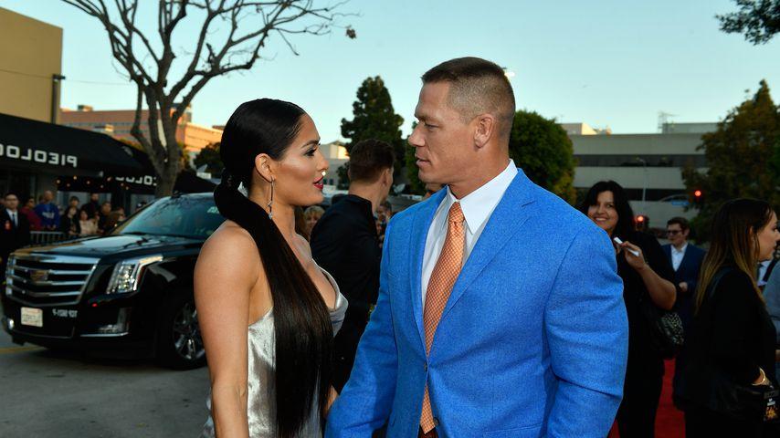 Trennungs-Grund? Nikki Bella wählte John Cenas Trauzeugen
