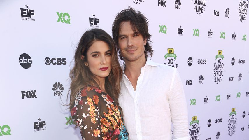 "Nikki Reed und Ian Somerhalder bei dem ""XQ Super School Live""-Event in Santa Monica"