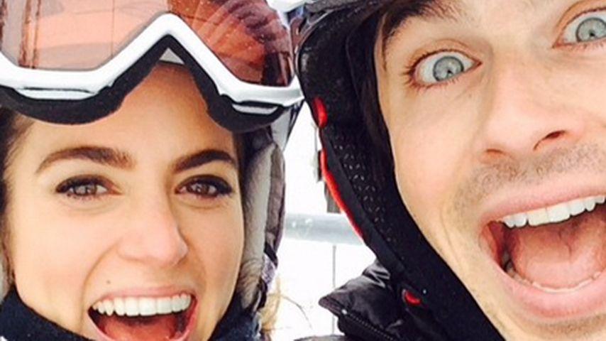 Ian Somerhalder & Nikki: Total verknallt im Schnee