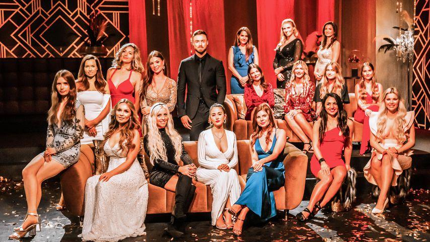 Niko Griesert und seine Bachelor-Girls in der ersten Nacht der Rosen