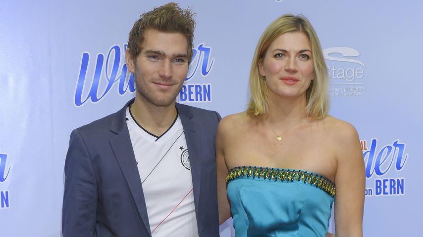 Nina Bott und ihr Freund Benjamin Baarz