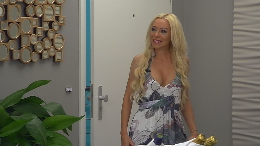 "Nina Kristin bei ""Promi Big Brother"""