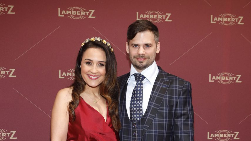 Nina Moghaddam mit ihrem Partner Dominik