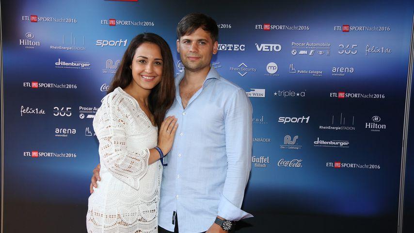 Nina Moghaddam und ihr Freund Dominik im August 2016