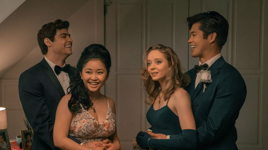 "Noah Centineo, Lana Condor, Madeleine Arthur & Ross Butler in ""To All the Boys: Always and Forever"""