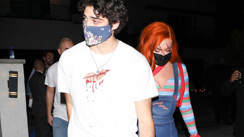 Noah Centineo und Anastasia Karanikolaou an Halloween 2020