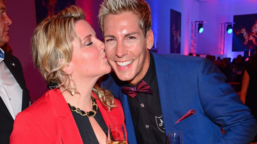 Norman Langen und Verena De-Haan bei der Jose Carreras Gala im Hotel Estrel