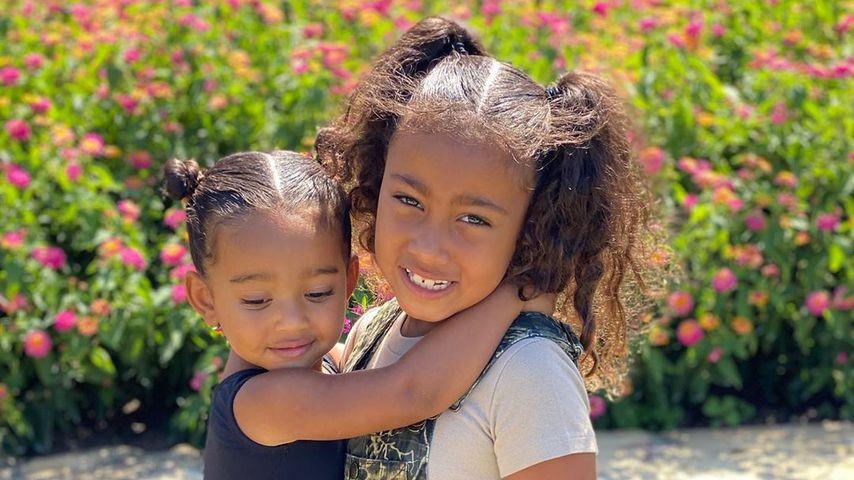 Geschwisterliebe: North und Chicago West verstehen sich top