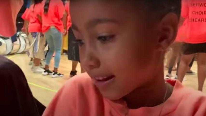 North West im neuen Videoclip von Kanye West