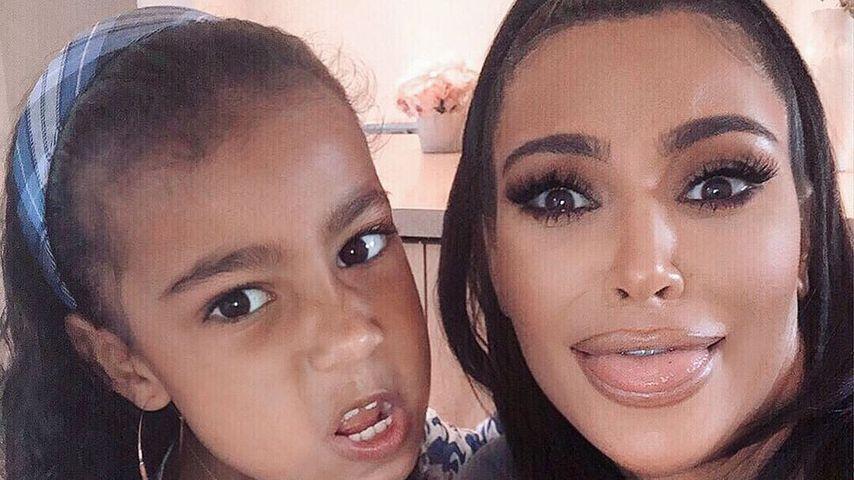 """Tochter North """"hackt"""" Kim Kardashians Instagram-Account"""