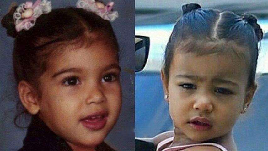 Wie zwei Schwestern! Kim Kardashian und ihre Nori