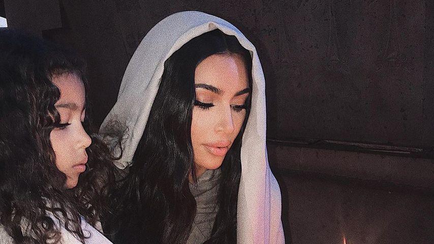 Andächtig: Kim Kardashian gibt Einblicke in armenische Taufe