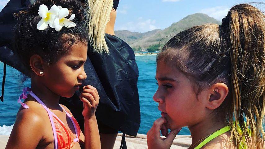 North West und Penelope Disick auf Bali 2018