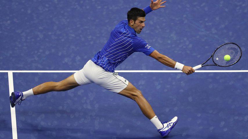 Novak Djokovic bei den US Open 2020