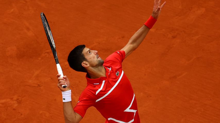 Novak Djokovic bei den French Open 2020