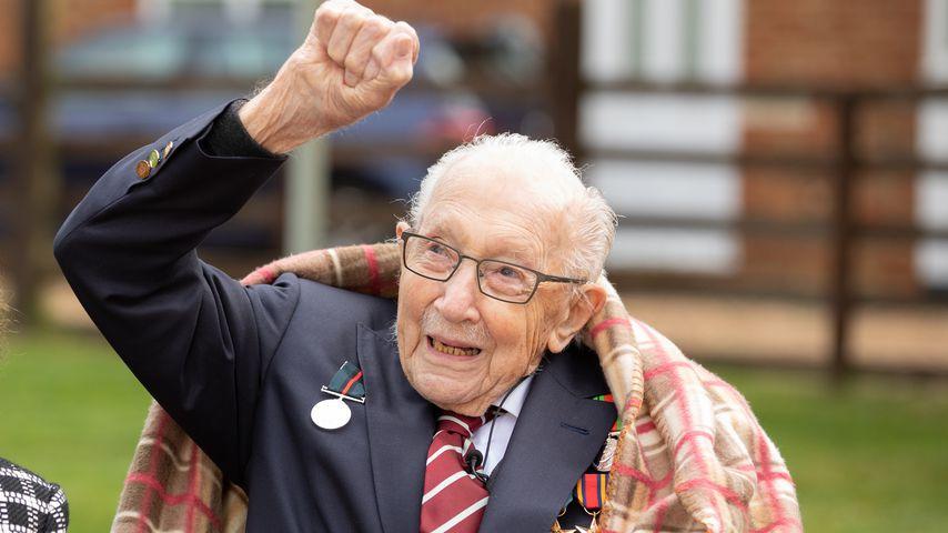 Spendensammler und Chartstürmer Tom Moore wird 100 Jahre alt