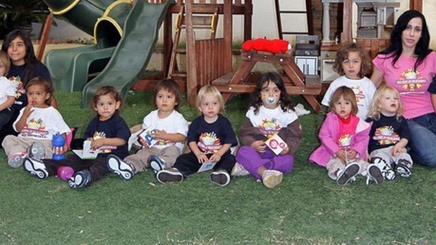 Octomom bald mit 14 Kindern auf der Straße?