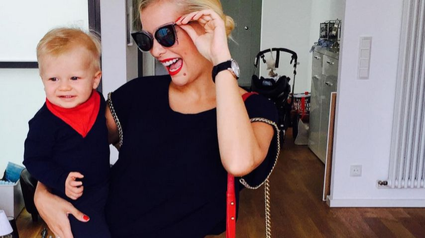 Oksana Kolenitchenko: So reagiert Milan auf den Baby-Bauch!