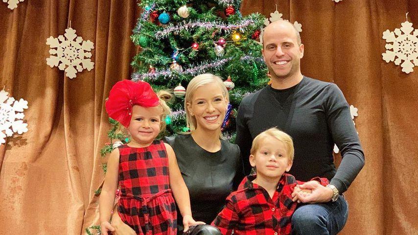 Oksana und Daniel Kolenitchenko mit ihren Kindern
