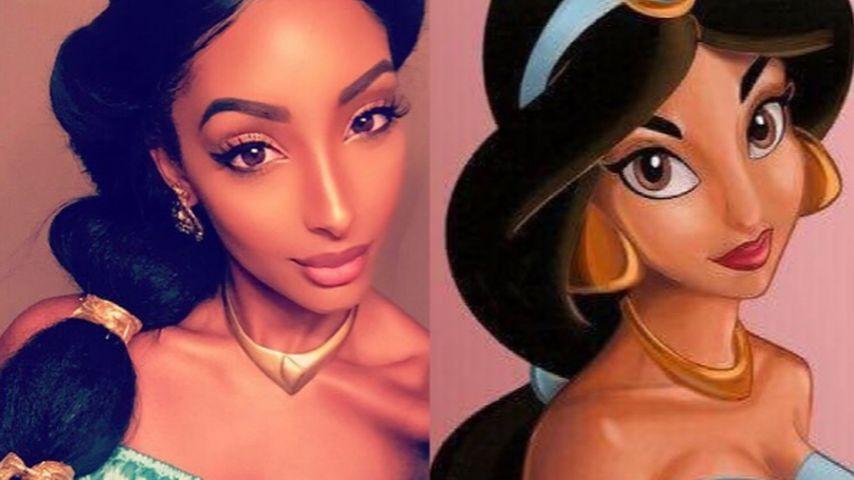 Prinzessin Jasmin?! Diese Beauty sieht aus wie Aladdins Frau