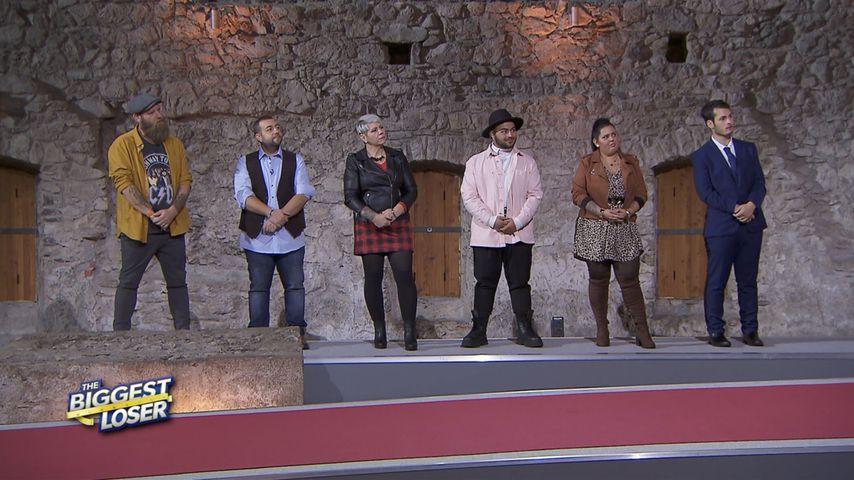 """Ole, Toni, Sonja, Luca, Jessica und Gianluca im """"The Biggest Loser""""-Halbfinale"""