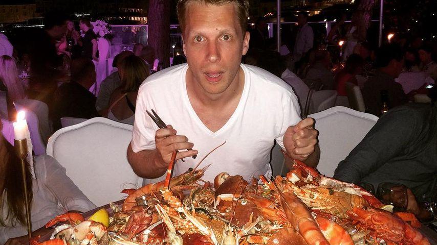 Oliver Pocher im Urlaub in St. Tropez