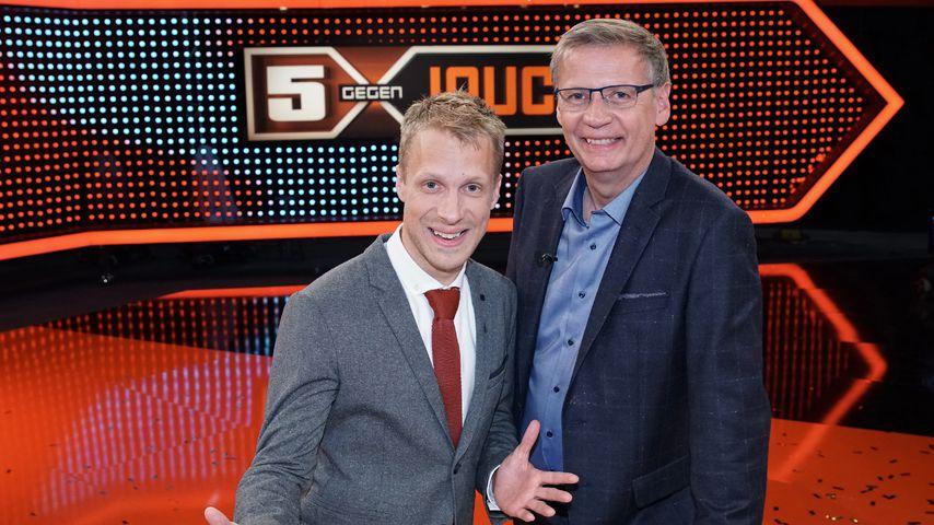 """""""5 gegen Jauch"""": Oliver Pocher feiert Moderations-Comeback"""