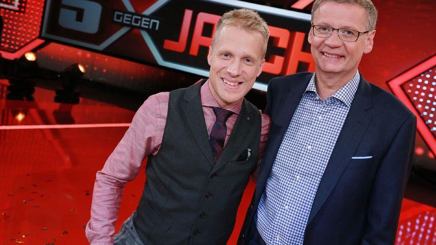 """Günther Jauch und Oliver Pocher bei """"5 gegen Jauch"""""""