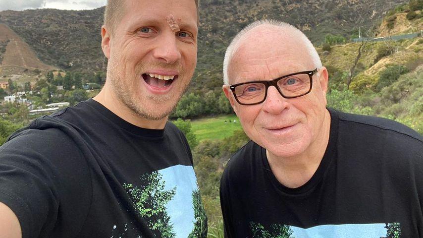 Fallschirmsprung im TV: Fans feiern Mut von Olivers Papa!