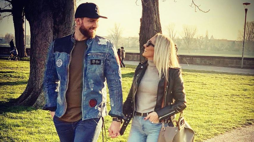 Ex-Bachelor Oliver Sanne und seine Freundin Jil Rock