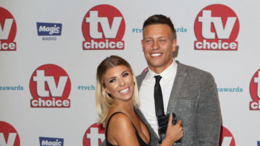 Olivia Buckland und Alex Bowen bei den TV Choice Awards 2017