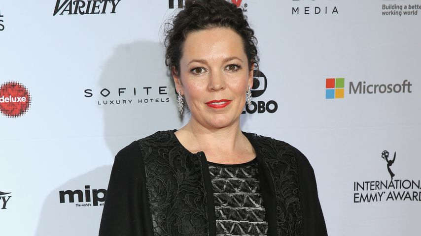 Olivia Colman bei den International Academy Of Television Arts & Sciences Emmy Awards in NYC 2014