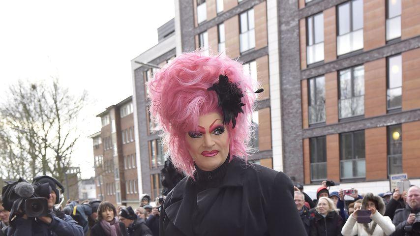 Olivia Jones im Januar 2020 in Hamburg