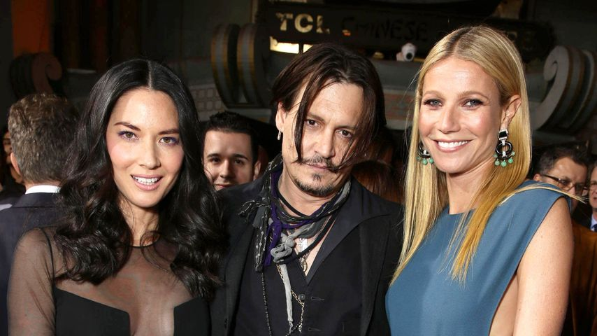 Johnny Depp, Gwyneth Paltrow und Olivia Munn