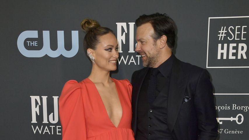 Olivia Wilde und Jason Sudeikis, Januar 2020