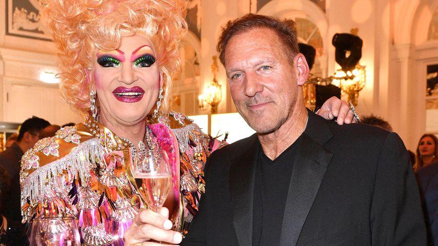 Olivie Jones und Ralf Möller auf der 20. Movie meets Media Party