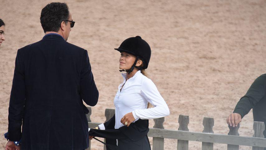 Turtelei bei Reit-Turnier: Mary-Kate Olsen & Olivier Sarkozy