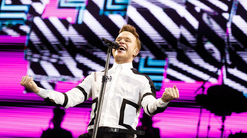 Olly Murs auf dem V Festival at Hylands Park im Jahr 2015 in Chelmsford, England