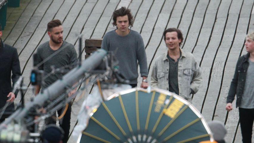 Endlich: One Direction drehen neues Musik-Video!