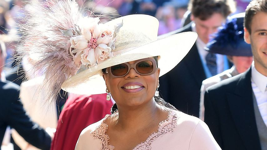 Oprah Winfrey auf Schloss Windsor im Mai 2018